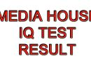 Media House IQ Test Result